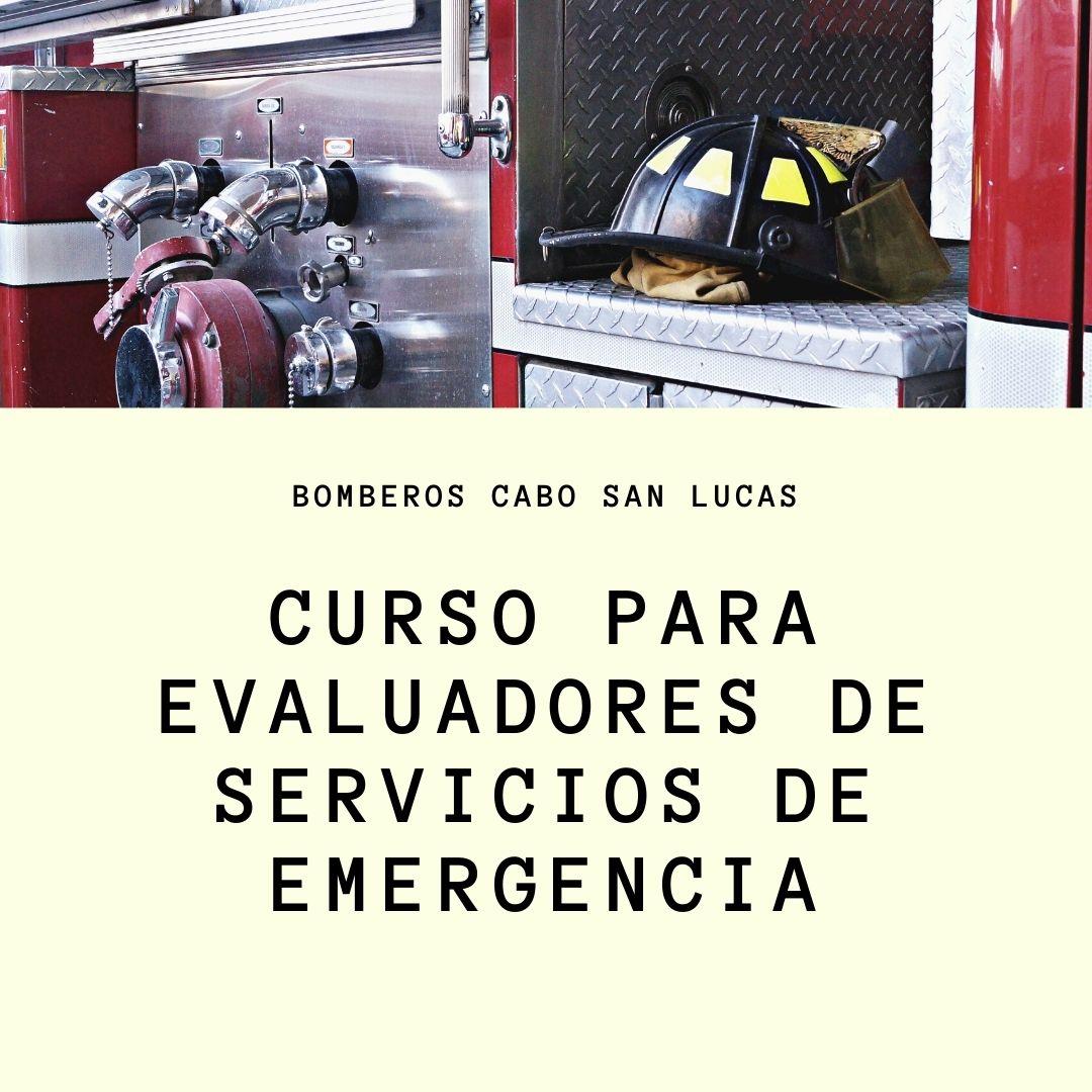 EVALUADORES DEL SECTOR DE SERVICIOS DE EMERGENCIAS